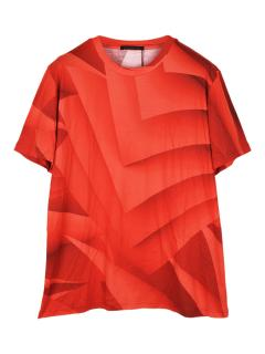 Christopher Kane confused pages digital print T-shirt