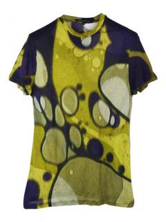 Christopher Kane abstract print T-shirt