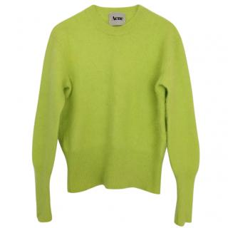 Acne Neon Sweater