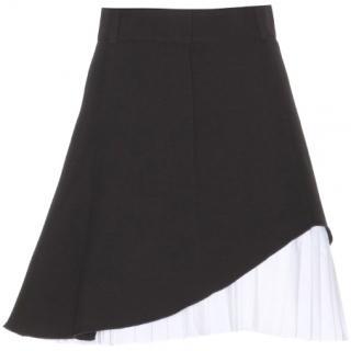 Victoria Beckham wool silk skirt