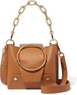Yuzefi Delila mini leather shoulder bag