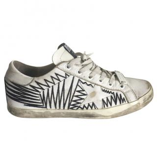 Golden Goose Distressed Sneakers