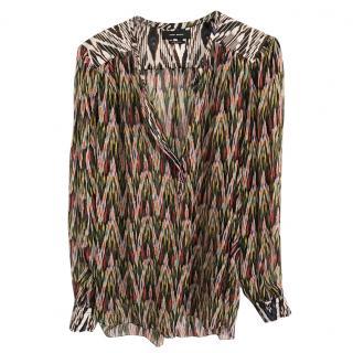 Isabel Marant Silk Shirt French 36