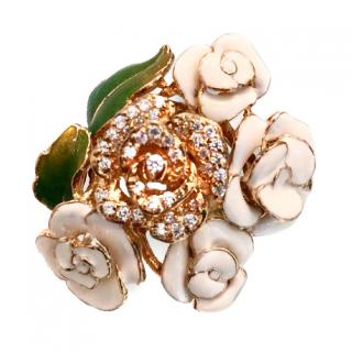 Ambrosia Couture Rose Dress Ring