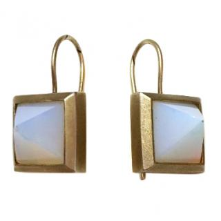 Eddie Borgo Pyramid Earrings