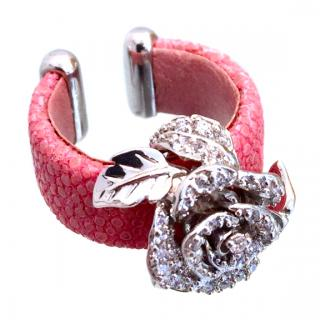 Ambrosia Couture Rose Stingray Ring