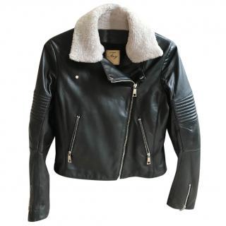 Fay Leather Jacket
