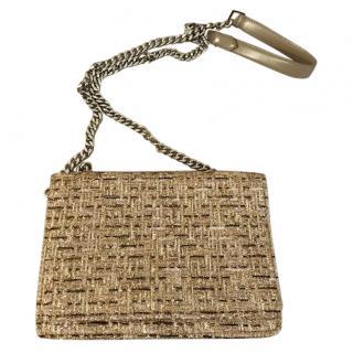 Rochas Tweed Flap Bag