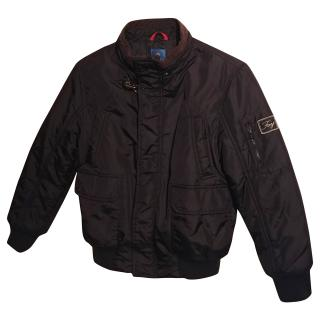 Fay Boys Black Bomber Jacket