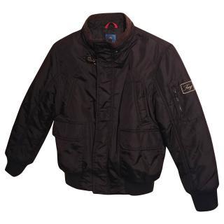 Fay Boys Black Bomber Jacket