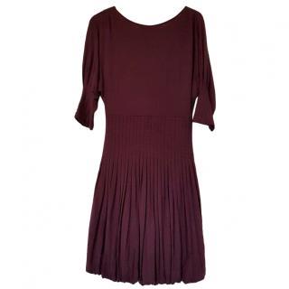 Catharine Malandrino purple bubble dress