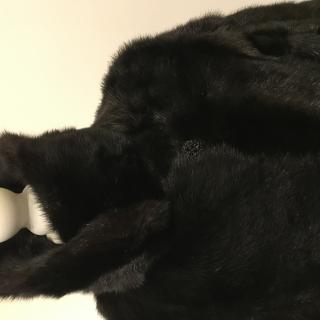 Bespoke Russian Mink Fur Coat