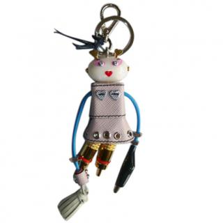 Prada 'Cheer' Saffiano Leather Keychain Trick