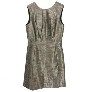 MCQ Metallic Mini Dress