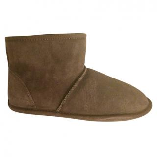 Just Sheepskin Ankle Booties
