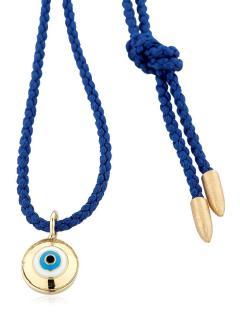 Luis Morais 18ct Gold Evil Eye Necklace RRP �550