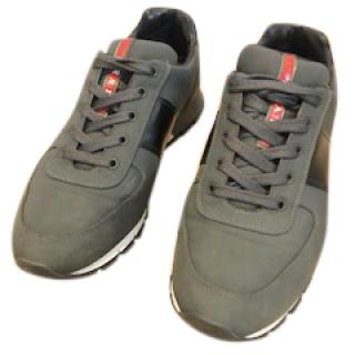 Prada Dark Green Trainers