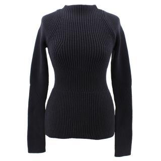 Alexander Wang black knit jumper