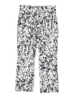 Jil Sander abstract print trouser