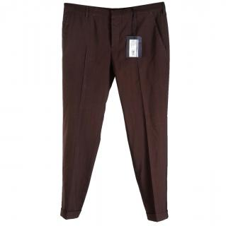 Prada brown trousers