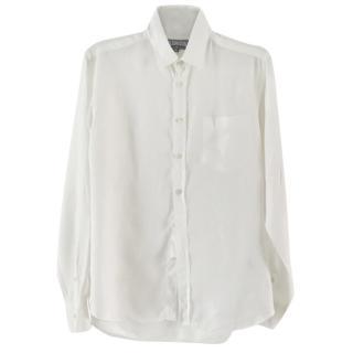 VILEBREQUIN white linen shirt