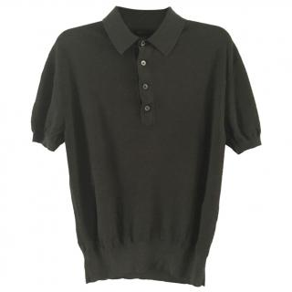 TOM FORD brown polo top