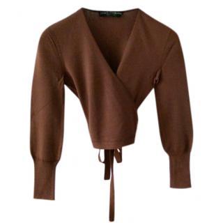 Dolce & Gabbana kimono knit wrap Top.