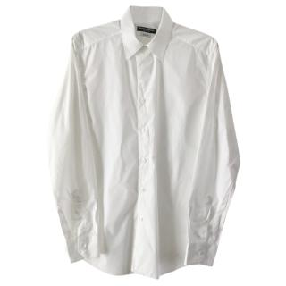 Dolce&Gabbana gold.. white dress shirt