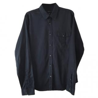 Gucci dark blue slim fitting Shirt