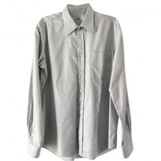 Hermes zigzag patterned shirt