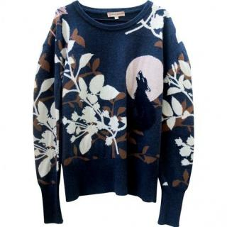 Paul & Joe printed knit jumper