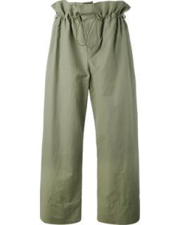 Stella McCartney Paper-bag waist trousers