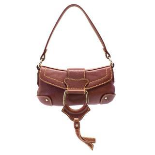e59f27642e1b Dolce and Gabbana burgundy mini shoulder bag