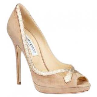 Jimmy Choo quiet suede sandals