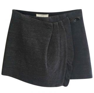 Vanessa Bruno Wool Blend Wrap Skirt