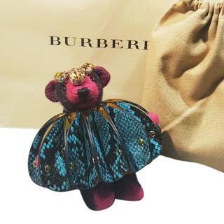 Burberry Thomas Bear concertina handbag charm
