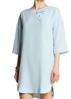 Sonia Rykiel Crepe du Chine Silk Dress