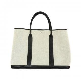 Hermes Garden Party Canvas tote