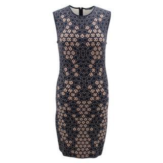 Alexander McQueen Sleeveless Body-con Printed Dress