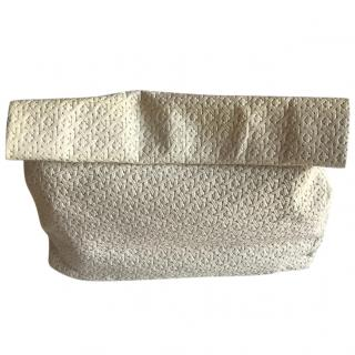 Marie Turnor Leather lunch clutch