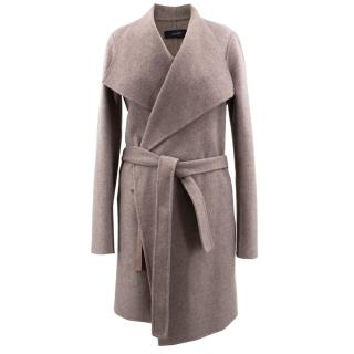 Joseph Wool & Cashmere Blend Wrap Coat