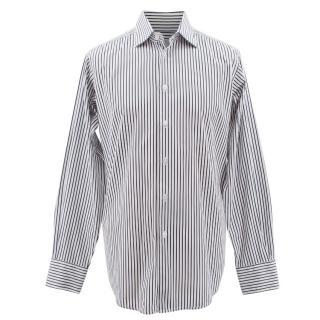 Richard James Savile Row Striped Shirt