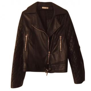 J.W. Anderson Quilted Black Leather Jacket