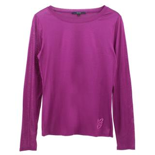 Gucci cotton long sleeved top