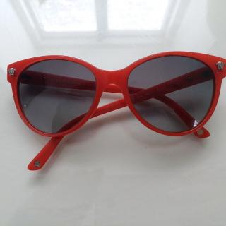 Versace red sunglasses