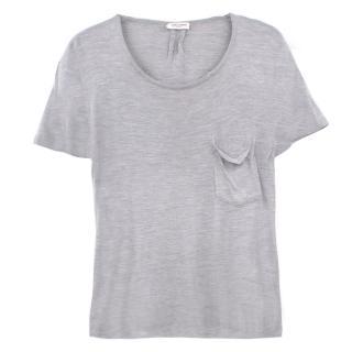 Saint Laurent cotton blend t-shirt