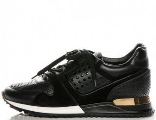 Louis Vuitton Perforated Runaway Black Sneakers