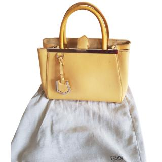 Fendi Yellow 2Jour bag (small)