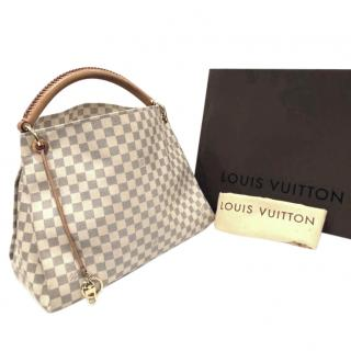 Louis Vuitton Artsy Mm Damier Azur Great Condition Hobo