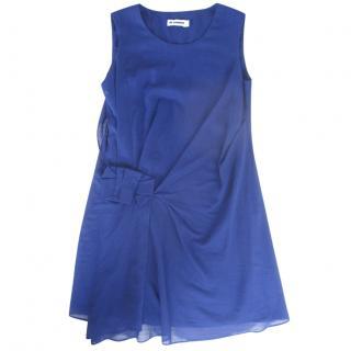 Jil Sander blue cotton Dress